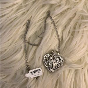 Locket and Key Necklace